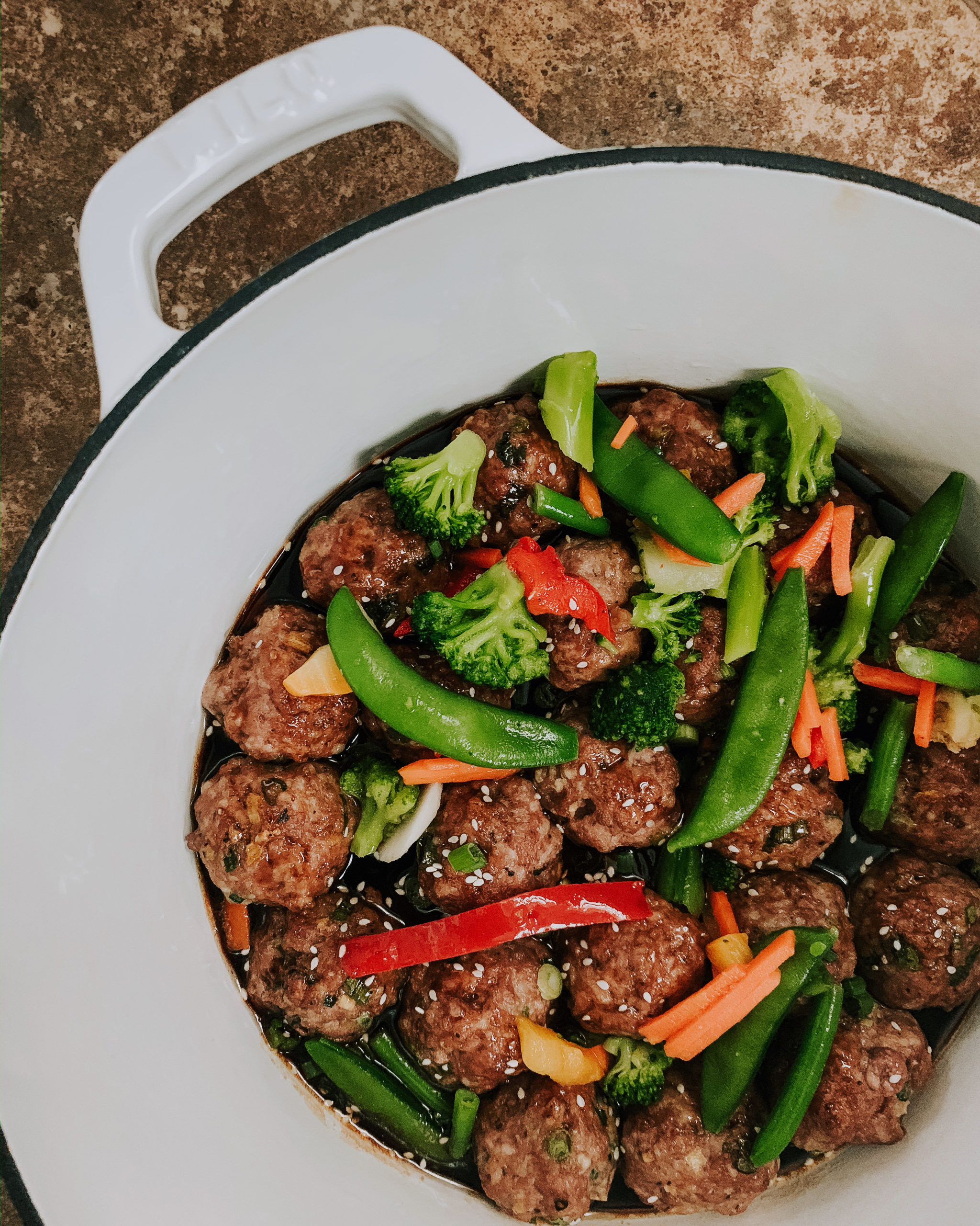 Hangry Pork Dumpling Meatballs