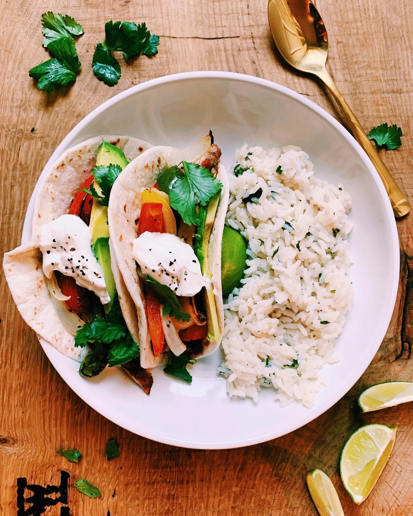 hangry diaries sheet pan fajitas